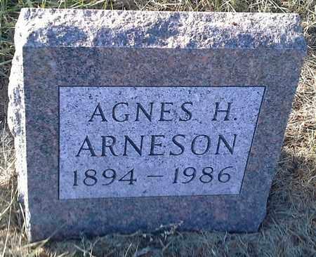 ARNESON, AGNES H - Hamlin County, South Dakota   AGNES H ARNESON - South Dakota Gravestone Photos