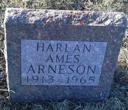 ARNESON, HARLAN AMES - Hamlin County, South Dakota | HARLAN AMES ARNESON - South Dakota Gravestone Photos