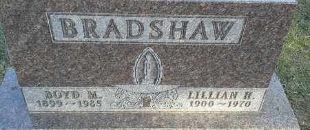 BRADSHAW, BOYD M - Hamlin County, South Dakota | BOYD M BRADSHAW - South Dakota Gravestone Photos