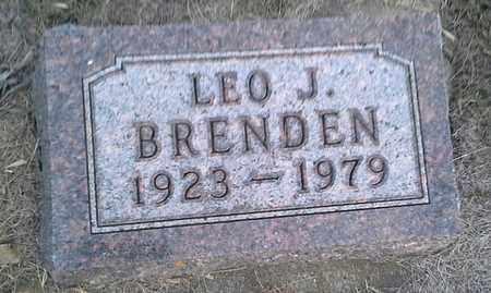 BRENDEN, LEO J - Hamlin County, South Dakota | LEO J BRENDEN - South Dakota Gravestone Photos