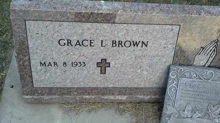BROWN, GRACE L - Hamlin County, South Dakota | GRACE L BROWN - South Dakota Gravestone Photos