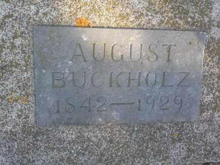 BURKHOLZ, AUGUST - Hamlin County, South Dakota   AUGUST BURKHOLZ - South Dakota Gravestone Photos