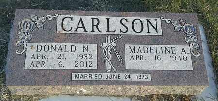 CARLSON, MADELINE A - Hamlin County, South Dakota   MADELINE A CARLSON - South Dakota Gravestone Photos