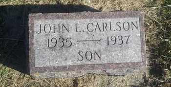 CARLSON, JOHN L - Hamlin County, South Dakota   JOHN L CARLSON - South Dakota Gravestone Photos