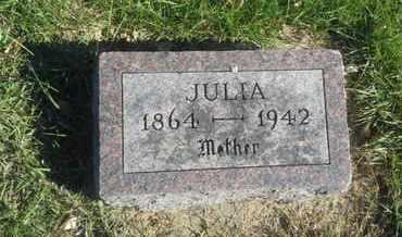 CARLSON, JULIA - Hamlin County, South Dakota   JULIA CARLSON - South Dakota Gravestone Photos