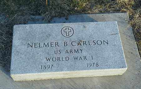 "CARLSON, NELMER B ""MILITARY"" - Hamlin County, South Dakota 