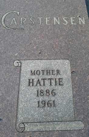 CARSTENSEN, HATTIE - Hamlin County, South Dakota | HATTIE CARSTENSEN - South Dakota Gravestone Photos