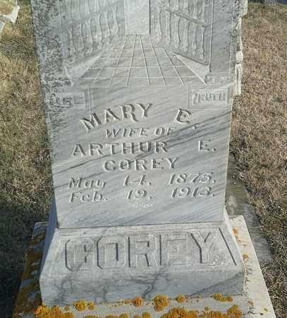 COREY, MARY E - Hamlin County, South Dakota   MARY E COREY - South Dakota Gravestone Photos