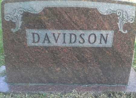DAVIDSON, FAMILY STONE - Hamlin County, South Dakota | FAMILY STONE DAVIDSON - South Dakota Gravestone Photos