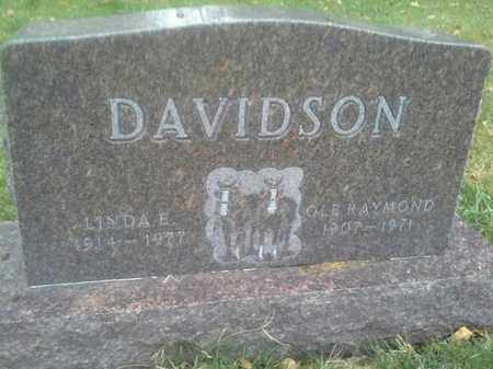 DAVIDSON, OLE RAYMOND - Hamlin County, South Dakota | OLE RAYMOND DAVIDSON - South Dakota Gravestone Photos