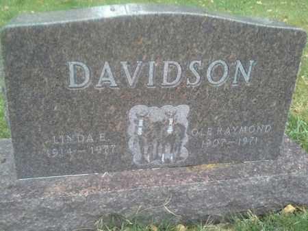 DAVIDSON, OLE RAYMOND - Hamlin County, South Dakota | OLE RAYMOND DAVIDSON - South Dakota Gravestone Photos