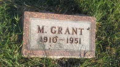 DAVIDSON, M. GRANT - Hamlin County, South Dakota | M. GRANT DAVIDSON - South Dakota Gravestone Photos