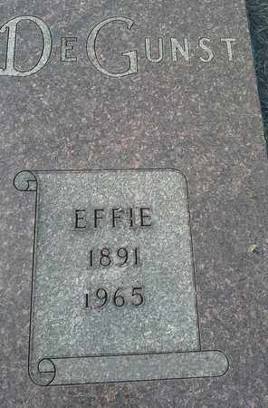 DEGUNST, EFFIE - Hamlin County, South Dakota   EFFIE DEGUNST - South Dakota Gravestone Photos