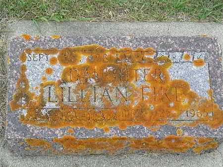 FIKE, LILLIAN - Hamlin County, South Dakota | LILLIAN FIKE - South Dakota Gravestone Photos