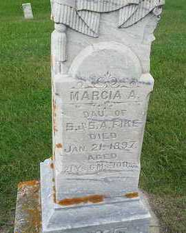 FIKE, MARCIA A - Hamlin County, South Dakota   MARCIA A FIKE - South Dakota Gravestone Photos