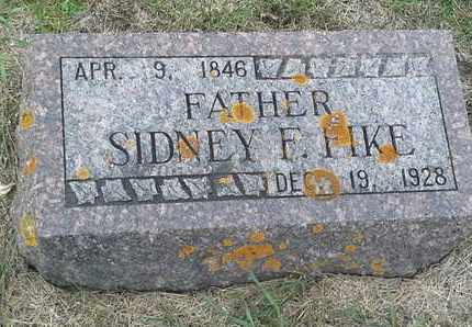 FIKE, SIDNEY F - Hamlin County, South Dakota | SIDNEY F FIKE - South Dakota Gravestone Photos