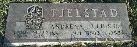 FJELSTAD, ANDRENA - Hamlin County, South Dakota | ANDRENA FJELSTAD - South Dakota Gravestone Photos