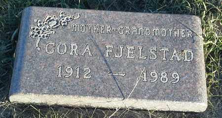 FJELSTAD, CORA - Hamlin County, South Dakota | CORA FJELSTAD - South Dakota Gravestone Photos
