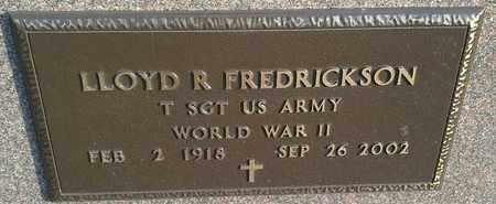 "FREDRICKSON, LLOYD R ""MILITARY"" - Hamlin County, South Dakota | LLOYD R ""MILITARY"" FREDRICKSON - South Dakota Gravestone Photos"