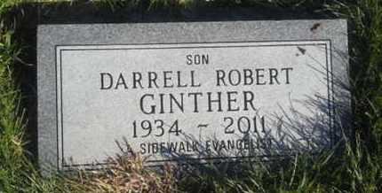 GINTHER, DARRELL ROBERT - Hamlin County, South Dakota | DARRELL ROBERT GINTHER - South Dakota Gravestone Photos
