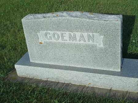GOEMAN, FAMILY STONE - Hamlin County, South Dakota | FAMILY STONE GOEMAN - South Dakota Gravestone Photos