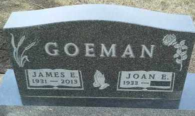 GOEMAN, JAMES E - Hamlin County, South Dakota | JAMES E GOEMAN - South Dakota Gravestone Photos
