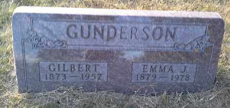 GUNDERSON, GILBERT - Hamlin County, South Dakota | GILBERT GUNDERSON - South Dakota Gravestone Photos