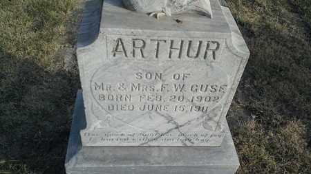 GUSE, ARTHUR - Hamlin County, South Dakota | ARTHUR GUSE - South Dakota Gravestone Photos