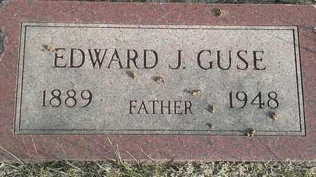 GUSE, EDWARD J - Hamlin County, South Dakota | EDWARD J GUSE - South Dakota Gravestone Photos