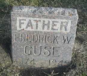 GUSE, FREDRICK W - Hamlin County, South Dakota | FREDRICK W GUSE - South Dakota Gravestone Photos