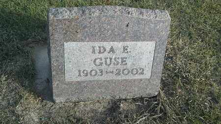 GUSE, IDA E - Hamlin County, South Dakota | IDA E GUSE - South Dakota Gravestone Photos