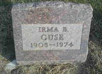 GUSE, IRMA B - Hamlin County, South Dakota   IRMA B GUSE - South Dakota Gravestone Photos