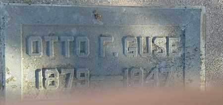 GUSE, OTTO F - Hamlin County, South Dakota | OTTO F GUSE - South Dakota Gravestone Photos