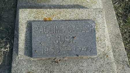 GUSE, PAULINE GAHLER - Hamlin County, South Dakota | PAULINE GAHLER GUSE - South Dakota Gravestone Photos