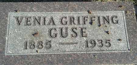 GRIFFING GUSE, VENIA - Hamlin County, South Dakota | VENIA GRIFFING GUSE - South Dakota Gravestone Photos
