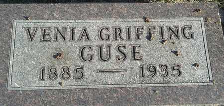 GUSE, VENIA - Hamlin County, South Dakota   VENIA GUSE - South Dakota Gravestone Photos