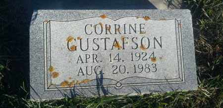 GUSTAFSON, CORRINE - Hamlin County, South Dakota | CORRINE GUSTAFSON - South Dakota Gravestone Photos