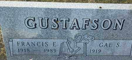 GUSTAFSON, FRANCIS  E - Hamlin County, South Dakota | FRANCIS  E GUSTAFSON - South Dakota Gravestone Photos