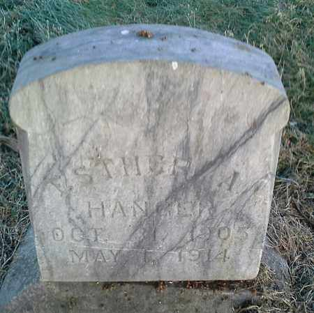 HANGER, ESTHER A - Hamlin County, South Dakota | ESTHER A HANGER - South Dakota Gravestone Photos