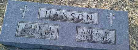 HANSON, CARL H - Hamlin County, South Dakota | CARL H HANSON - South Dakota Gravestone Photos