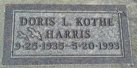 KOTHE HARRIS, DORIS - Hamlin County, South Dakota | DORIS KOTHE HARRIS - South Dakota Gravestone Photos