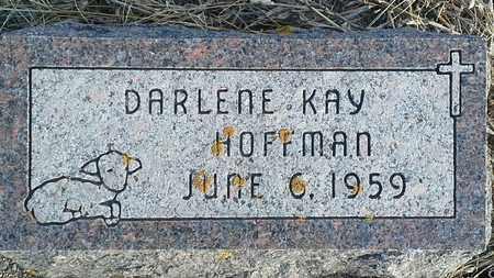 HOFFMAN, DARLENE KAY - Hamlin County, South Dakota | DARLENE KAY HOFFMAN - South Dakota Gravestone Photos