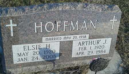 HOFFMAN, ARTHUR J - Hamlin County, South Dakota | ARTHUR J HOFFMAN - South Dakota Gravestone Photos