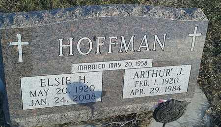 HOFFMAN, ARTHUR J - Hamlin County, South Dakota   ARTHUR J HOFFMAN - South Dakota Gravestone Photos