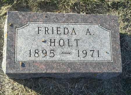HOLT, FRIEDA A - Hamlin County, South Dakota | FRIEDA A HOLT - South Dakota Gravestone Photos