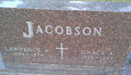 JACOBSON, GRACE A - Hamlin County, South Dakota | GRACE A JACOBSON - South Dakota Gravestone Photos