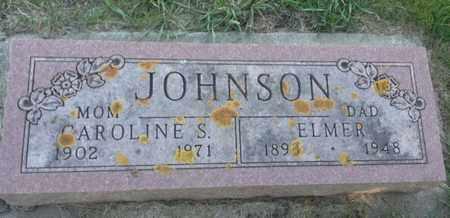 JOHNSON, ELMER - Hamlin County, South Dakota   ELMER JOHNSON - South Dakota Gravestone Photos