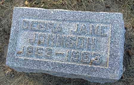 JOHNSON, DEBRA JANE - Hamlin County, South Dakota | DEBRA JANE JOHNSON - South Dakota Gravestone Photos