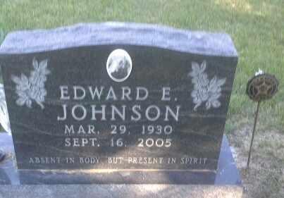 JOHNSON, EDWARD E - Hamlin County, South Dakota   EDWARD E JOHNSON - South Dakota Gravestone Photos
