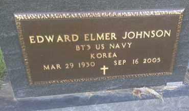 "JOHNSON, EDWARD ELMER ""MILITARY"" - Hamlin County, South Dakota | EDWARD ELMER ""MILITARY"" JOHNSON - South Dakota Gravestone Photos"